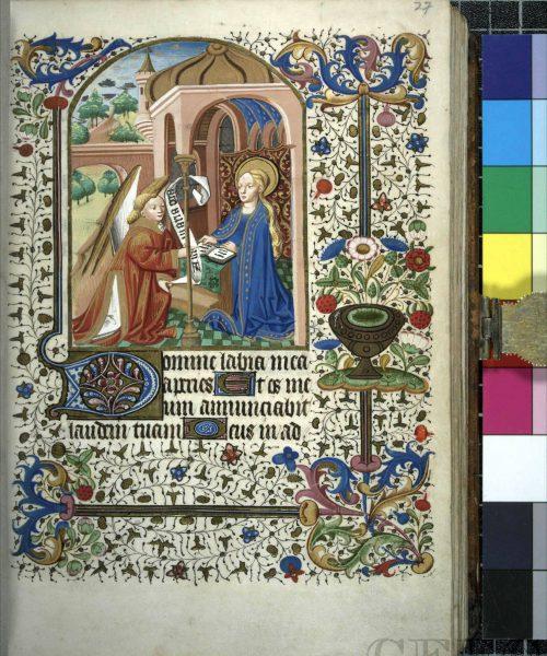 27r Annunciation